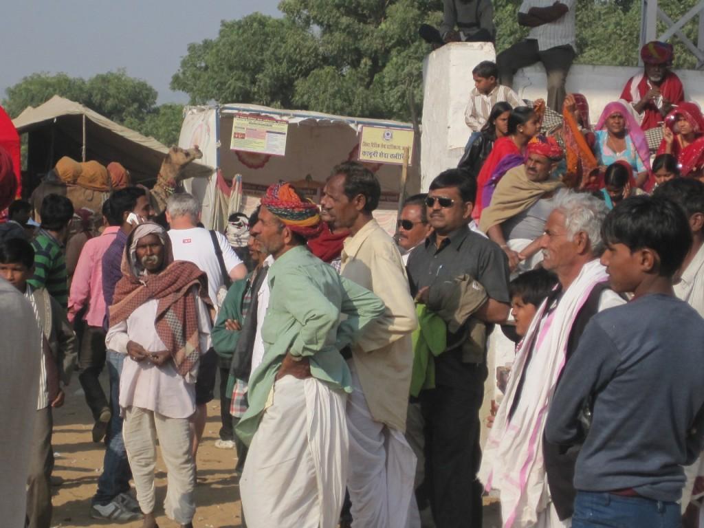 crowd men