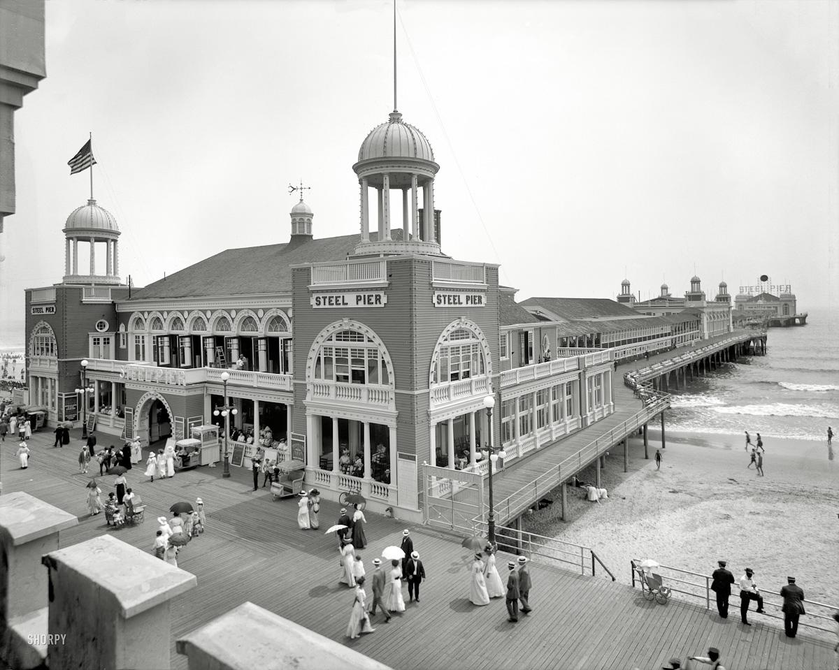 Steel Pier/Atlantic City 1910