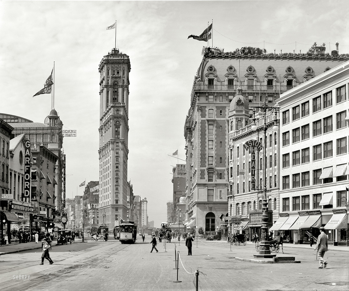 Times Square 1908