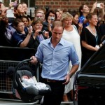 First king-to-be to carry a baby car seat, install it & drive his family away. Normal stuff.