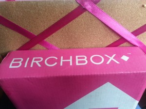 Cute pink box arrived in the mail