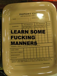 Learn manners