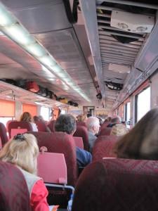 bus scene inside