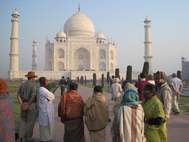 taj with indians