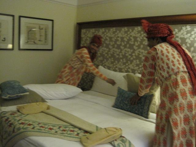 Hotel housekeeping staff Agra