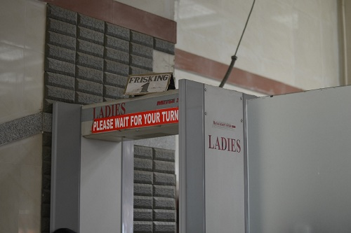 Here's a good piece about airport security in India