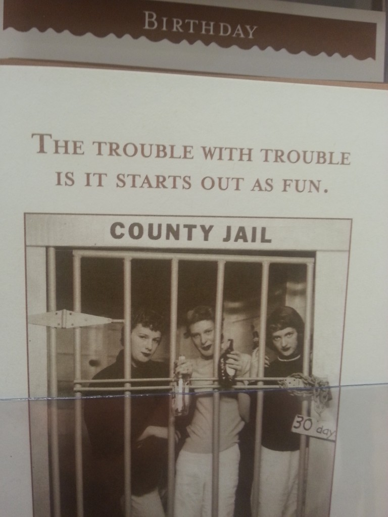 Trouble starts as fun