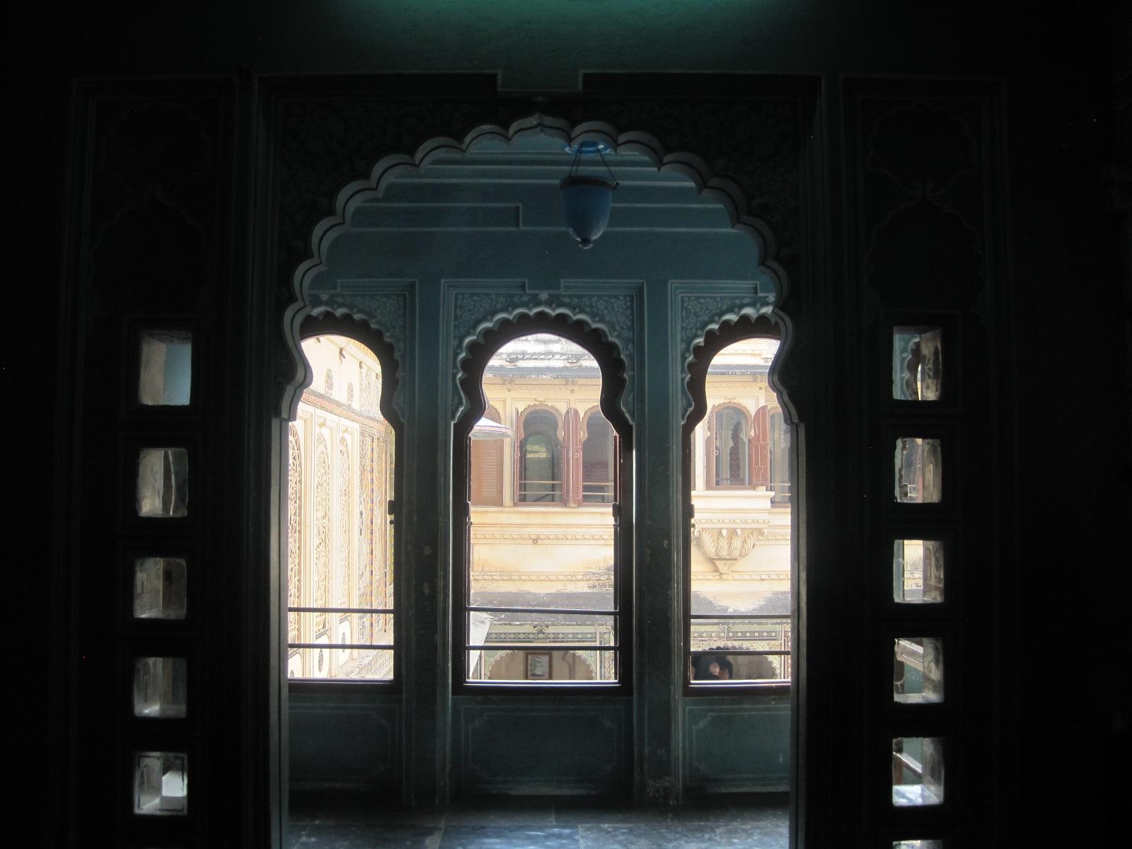 Something about those keyhole arches.