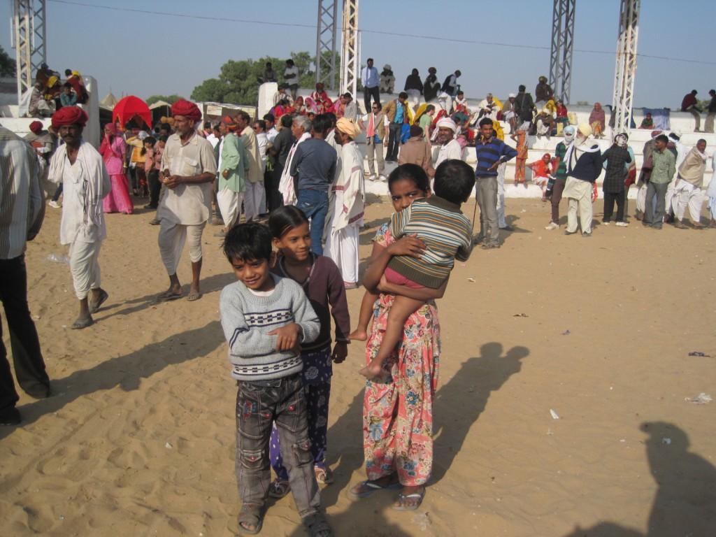 At the Pushkar Camel Festival