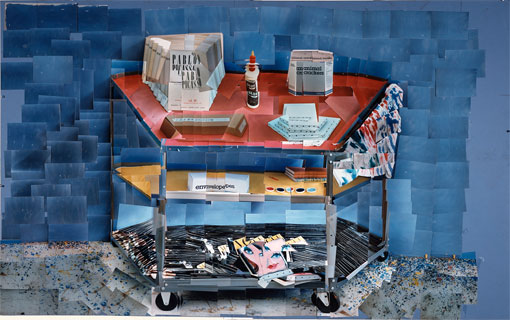 Paint Trolley, 1985, Hockney