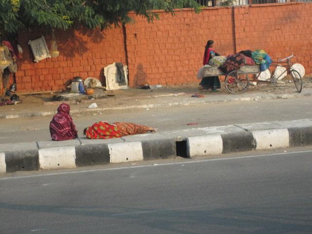 sleep on street