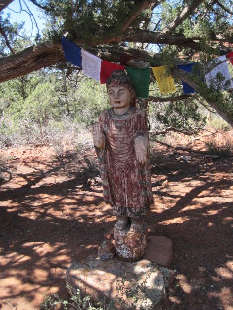 Stupa statue