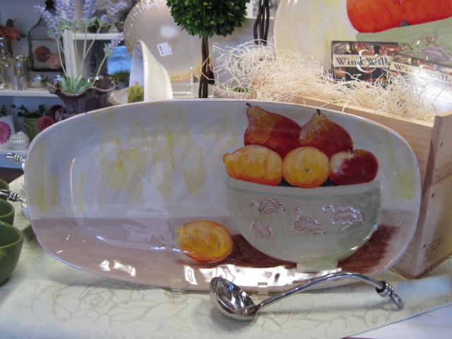 serving plate hostess gift