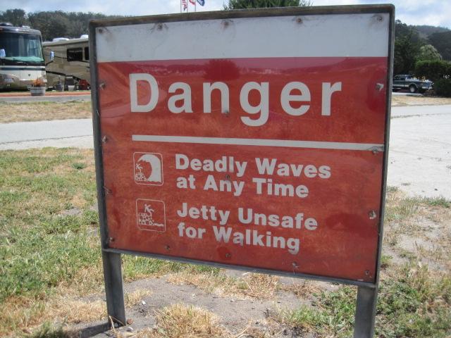 Danger waves