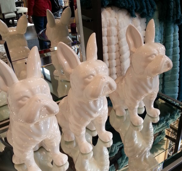 white dog 3 statue cropd