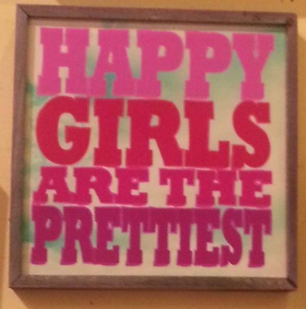 happy girsl pretty