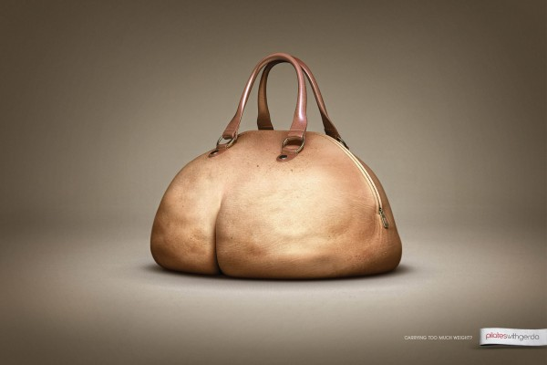 Butt purse