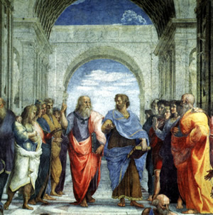 """Plato & his student, Aristotle, are two of the most famous philosophers in history. Plato's teacher, Socrates, astutely declared that """"the unexamined life is not worth living."""""""