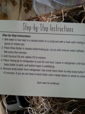 Easy instructions included.