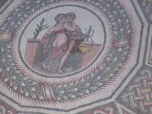 loving couple mosaic