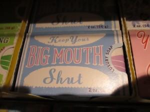 keep big mouth