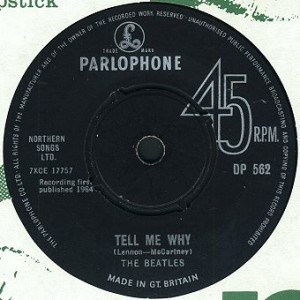 """As the Beatles sang, """"Tell me why..."""""""