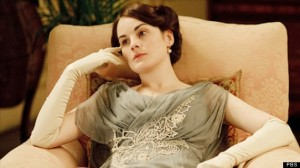 """""""Ho-hum, I suppose I'll just sit here in my beautiful gown looking bored."""""""