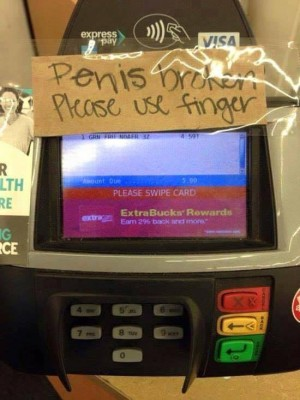 penis is broken
