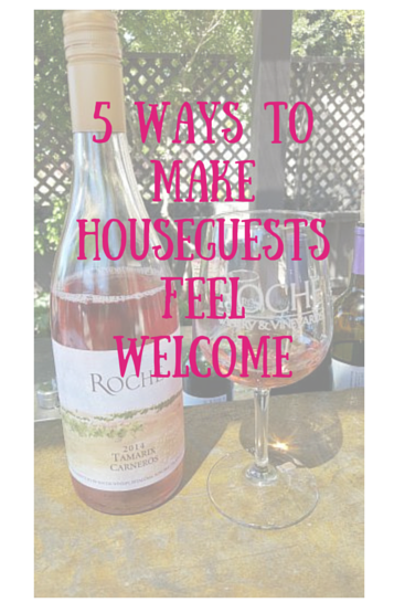house guest welcome