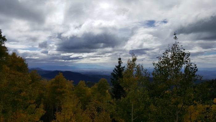 clouds aspen top